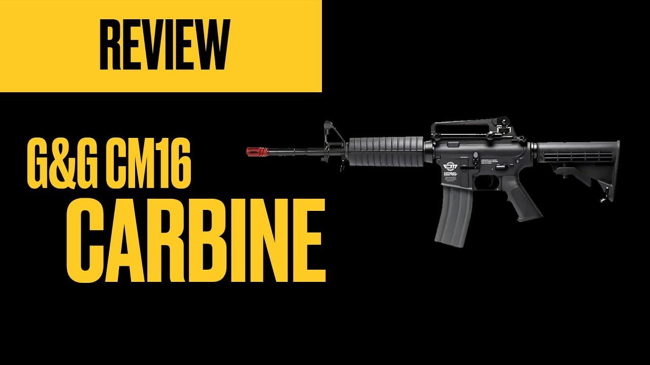 Revue détaillée – G&G CM16 CARBINE et PREDATOR (AEG) – Airsoft