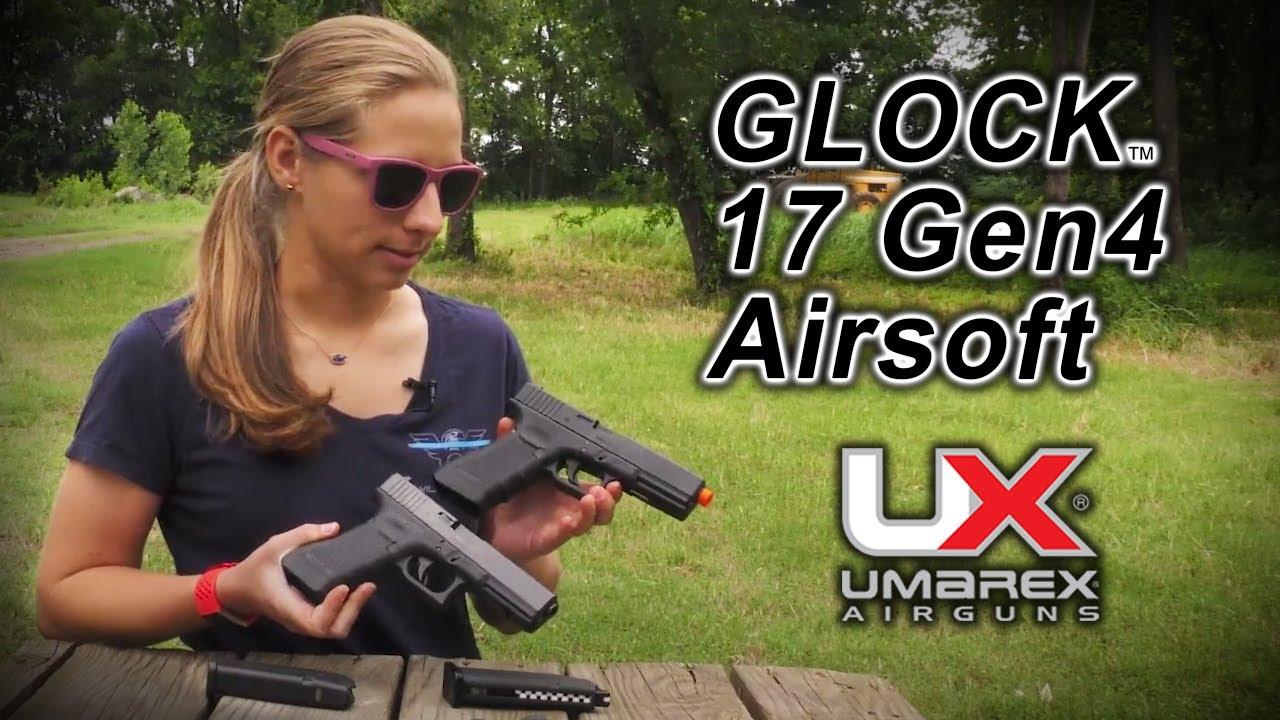 Examen des pistolets BB Airsoft CO2 GLOCK 17 Gen4: Umarex