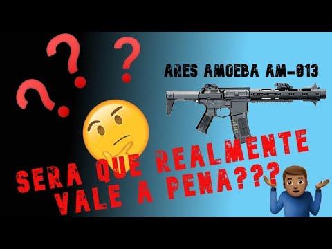 Airsoft Ares Amoeba AM 013 avis PT Brasil (Quelle est la valeur des aegs en dehors du Brésil?!)