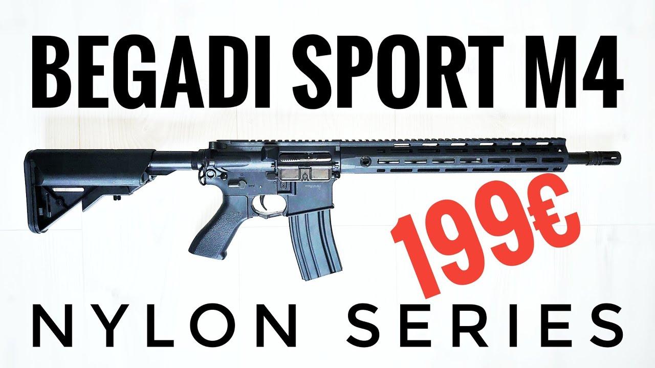 Revue Begadi Sport M4 Nylon par Airsoft Start