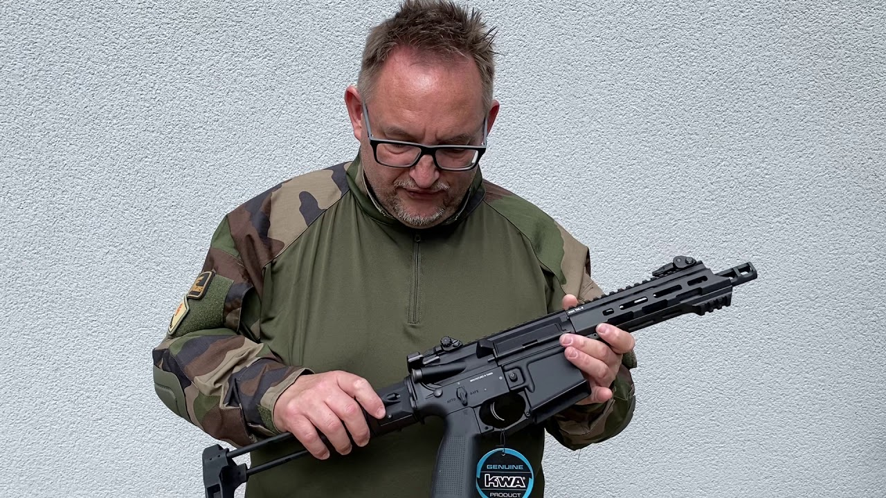 KWA Ronin T6 Airsoft Softair Unboxing Review Test Softair.Zone High End Airsoft CQB