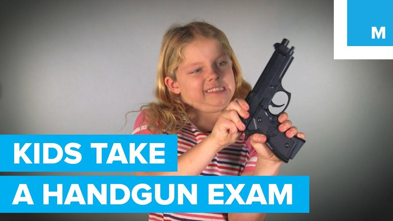 3 enfants peuvent-ils réussir un examen de licence d'armes de poing? | Mashable