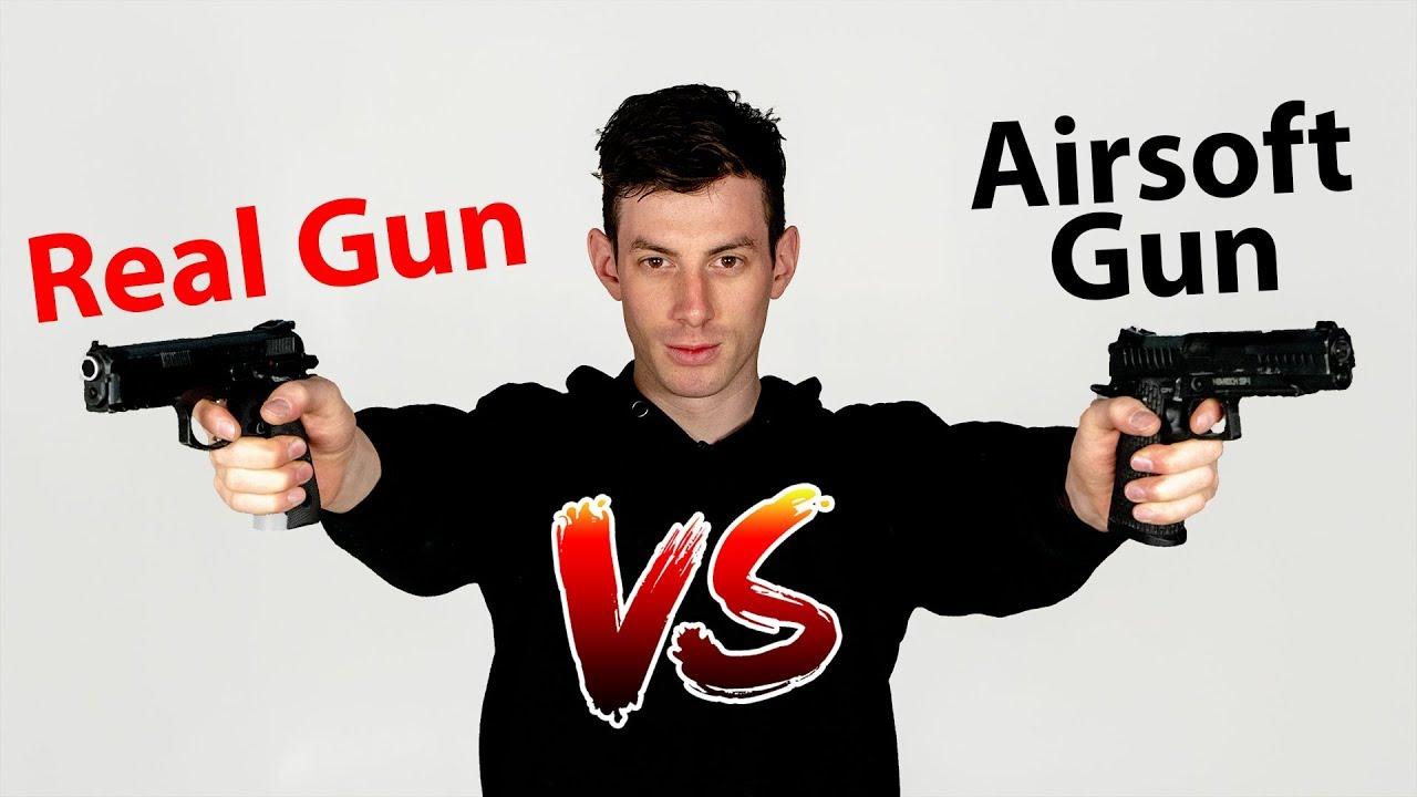 Real Gun contre Airsoft Gun – SSP1