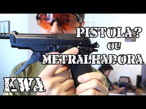 Le Beretta M93R Secret – Airsoft Brasil Luiz Rider