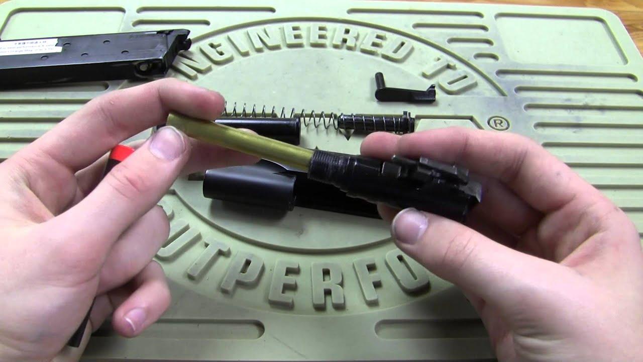 Comment nettoyer et démonter un M1911 (Airsoft GBB)