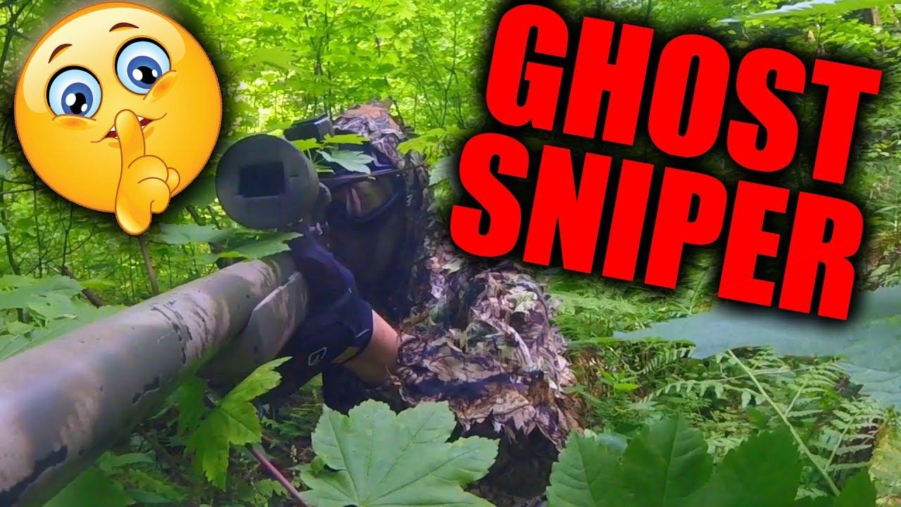 ILS NE PEUVENT PAS ME VOIR!   Airsoft Ghost Sniper