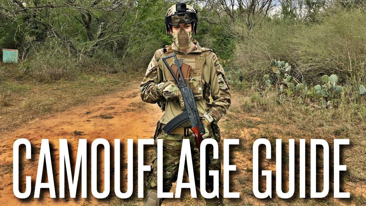 L'importance du camouflage dans l'airsoft – Guide de base pour les débutants