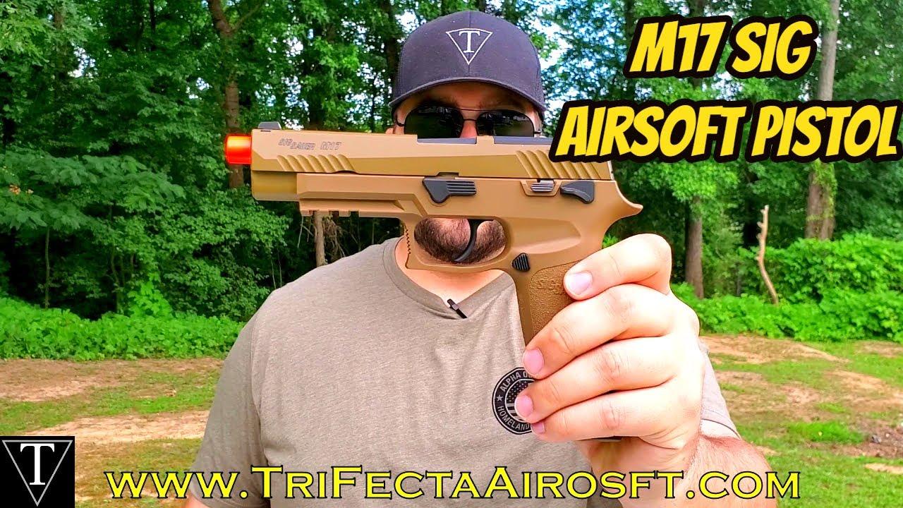 Test et révision du pistolet M17 Sig Airsoft