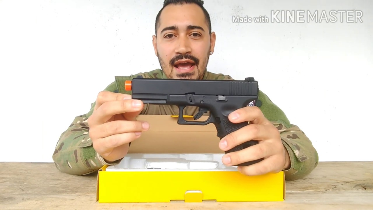 REVUE – ARMEMENT GLOCK R17 GBB ARMY (AIRSOFT)