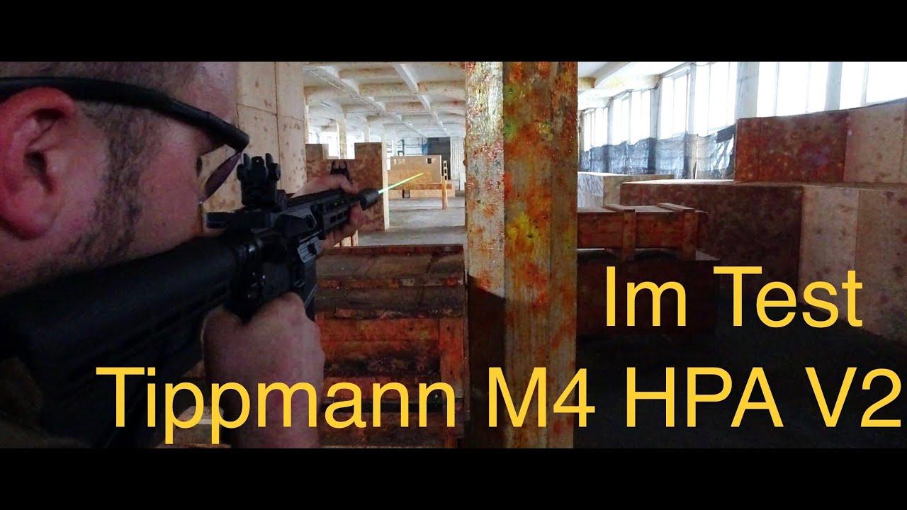AREA13   Tippmann M4 HPA V2 dans le test   Revue   Tipmmann est-il bon pour HPA?   Airsoft et paintball
