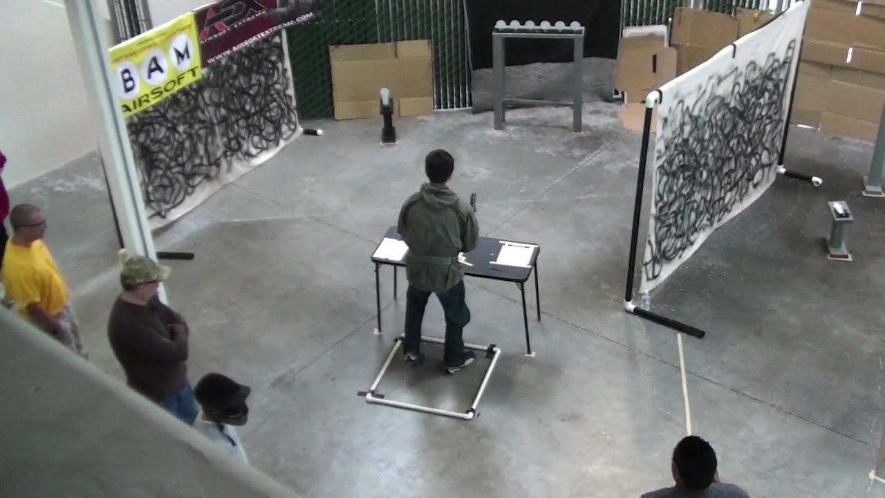 Vidéo # 12 du Défi pistolet Airsoft Extreme Airsoft