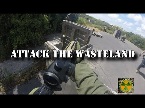 Attack The Wasteland (Partie 1 Wasteland Airsoft)