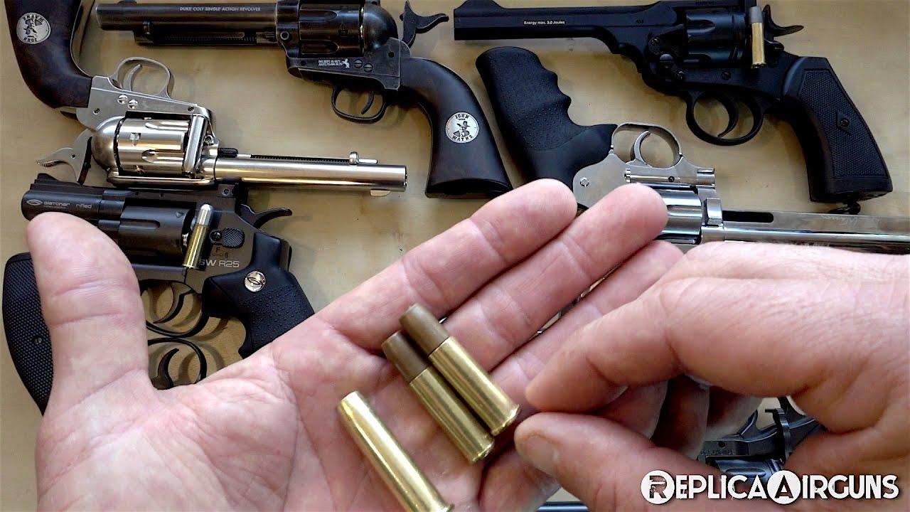 Quels obus fonctionnent dans quel obus chargeant des revolvers?