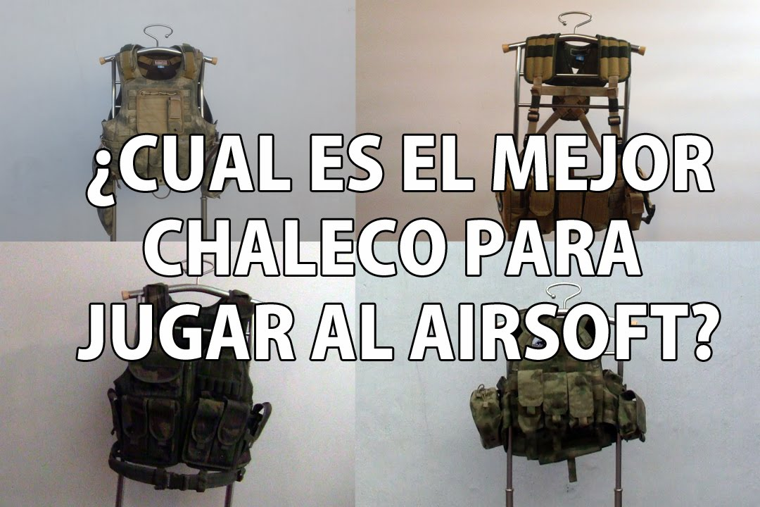 QUEL EST LE MEILLEUR GILET POUR JOUER À AIRSOFT? Aisoft Review Argentine