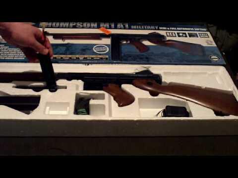 Test du Cybergun Thompson M1A1 Airsoft Gun
