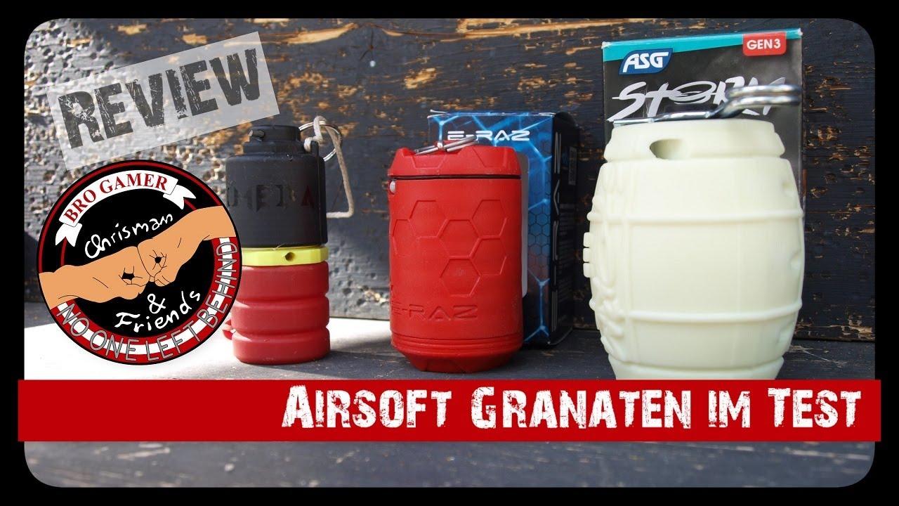 Revue des grenades Airsoft