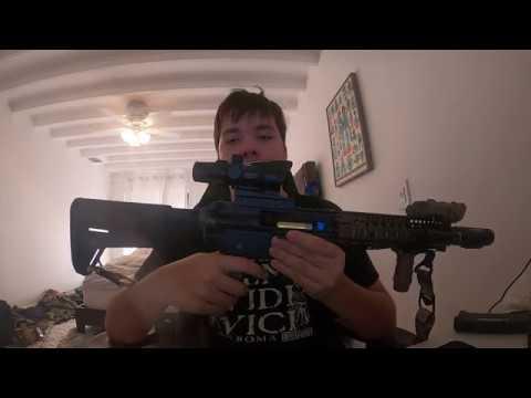 Revue du fusil Emg Daniel Defence Mk Mod0 G&P Airsoft