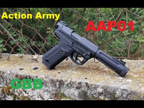REVIEW Action Army AAP01 GBB (FR)