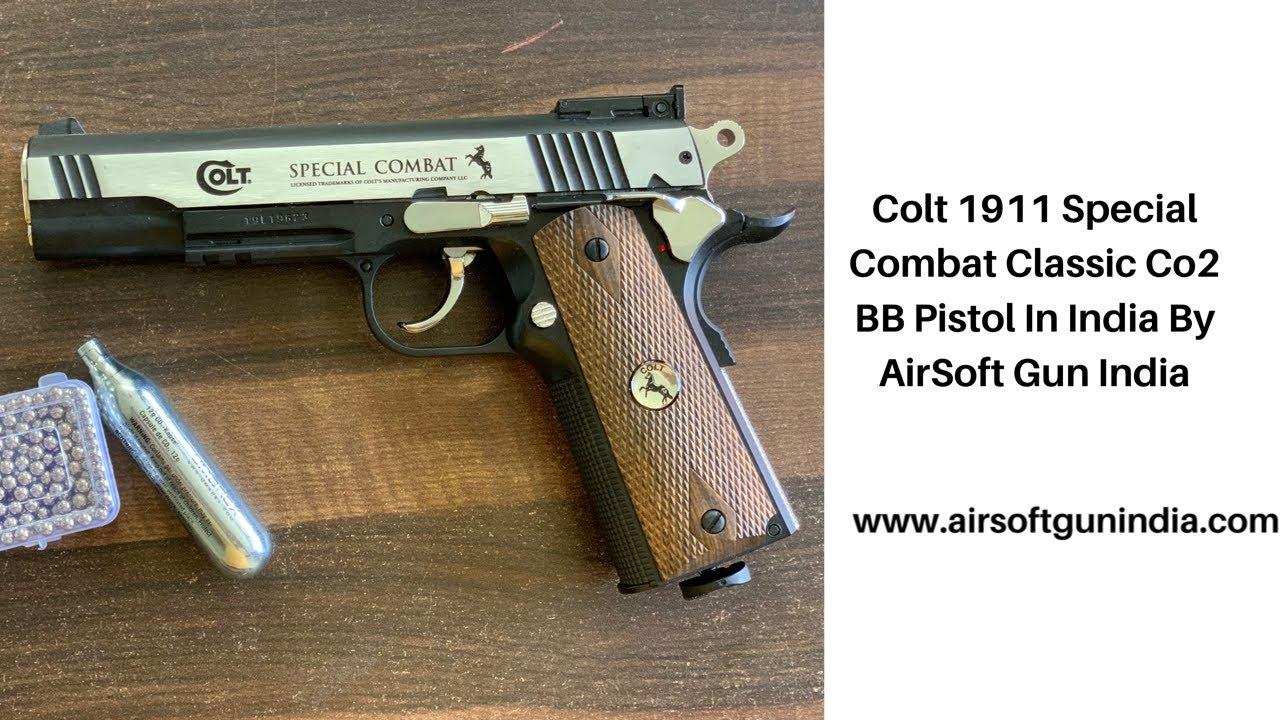 Colt 1911 Special Combat Classic Co2 BB Pistol In India Par AirSoft Gun India