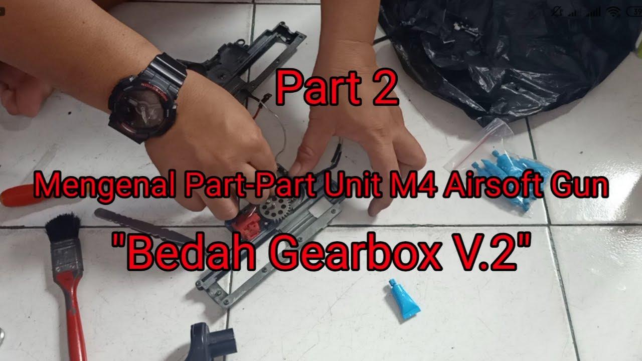 Apprenez à connaître les pièces de l'unité M4 Airsoft Gun (partie 2)