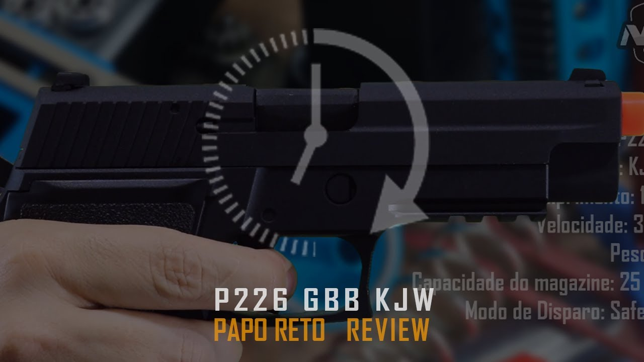 P226 KJW GBB REVIEW