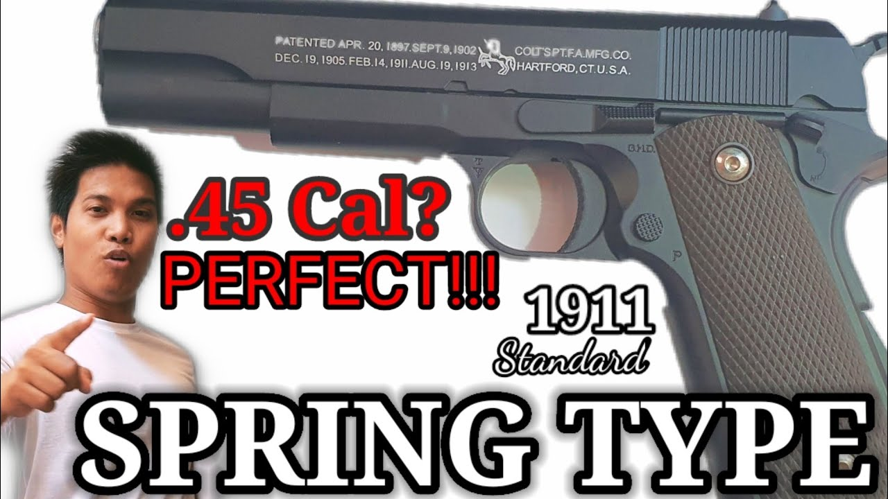 1911 Spring Type (Airsoft Review)