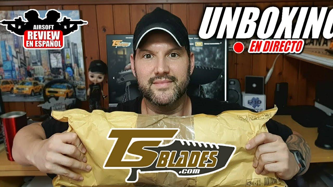 Unboxing TSBLADES News et tirages possibles !! | Revue Airsoft en espagnol