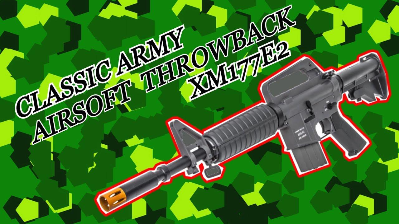 CLASSIC ARMY XM177E2 retour airsoft   Airsoft Guns Unboxing De Shogun.NL