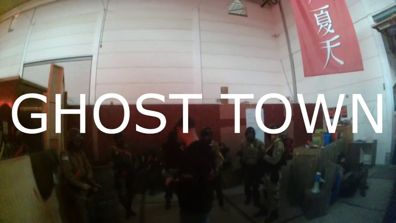 Airsoft: Ghost Town Oude Tonge NL 27-11-2016