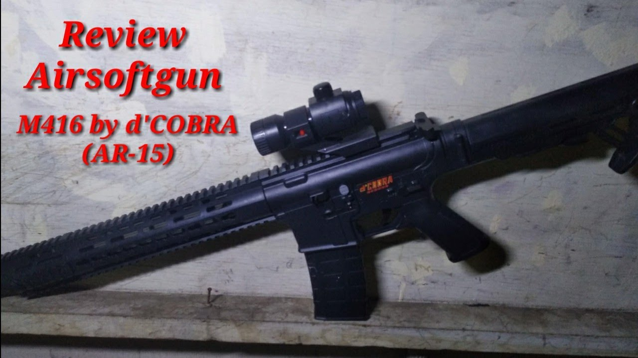 M416 Airsoftgun Review (AR-15) PAR 'COBRA