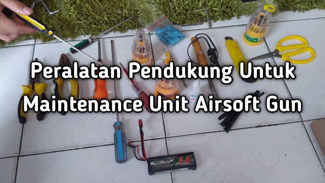 Équipement de soutien dans les unités de maintenance des armes airsoft