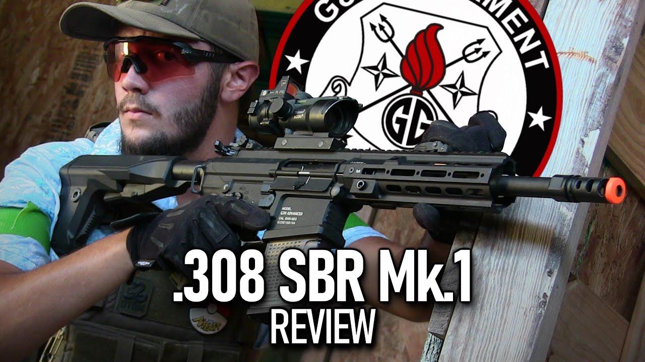 G&G .308 SBR Mk.1 Airsoft Review – Est-ce que cela vaut 400 $?