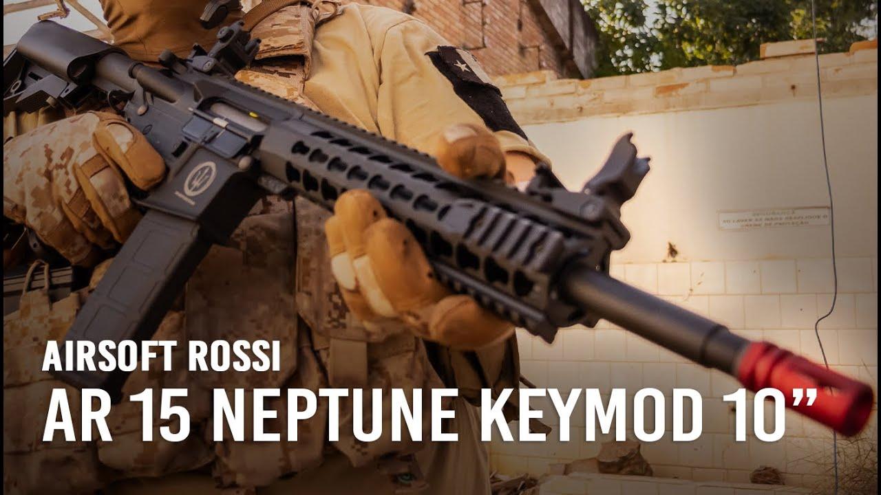 Critique: Carabine Airsoft Rossi AR15 Neptune Keymod 10