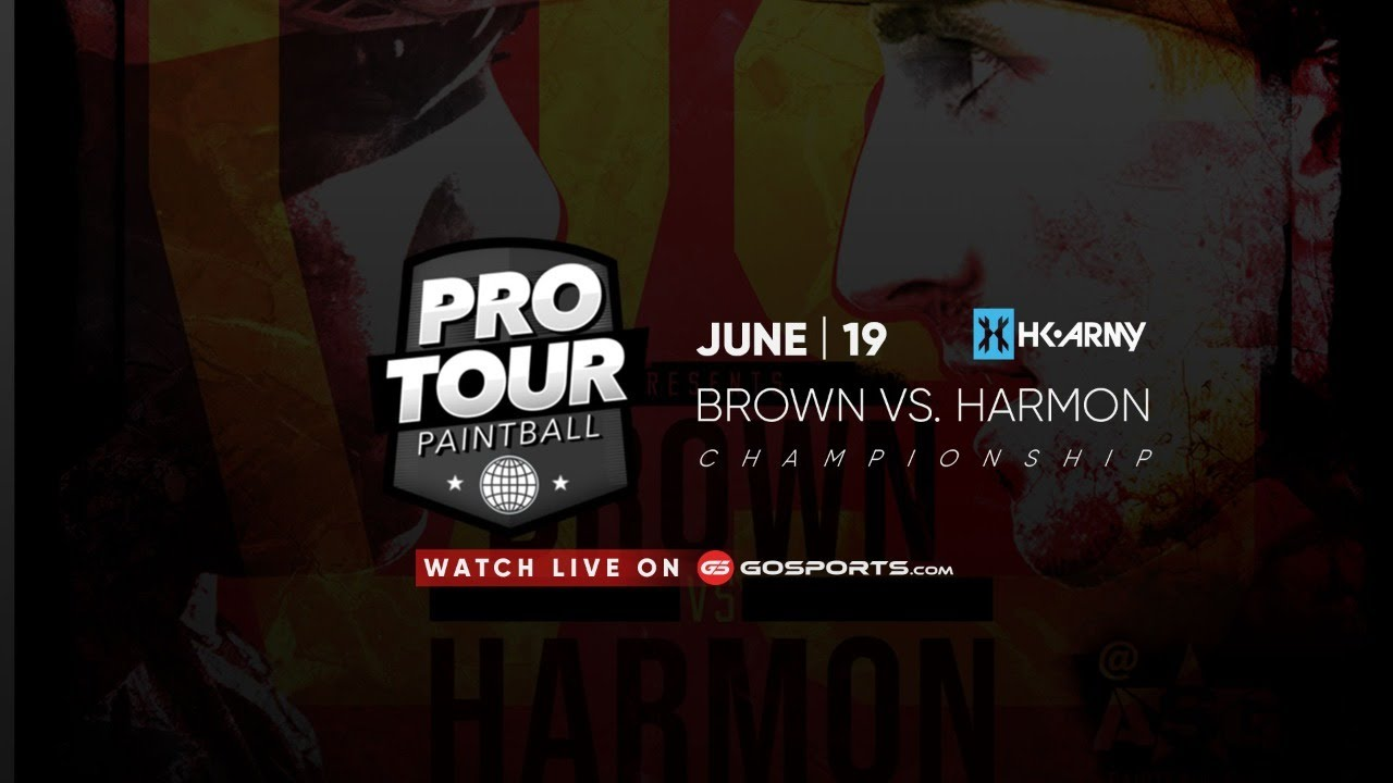 19 juin | PRO TOUR Paintball | Brown vs Harmon
