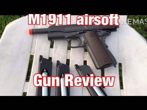 Test du M1911 airsoft