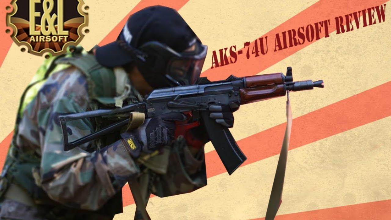 E&L AKS-74U Airsoft Review (Peut-être le meilleur Airsoft AK?!)