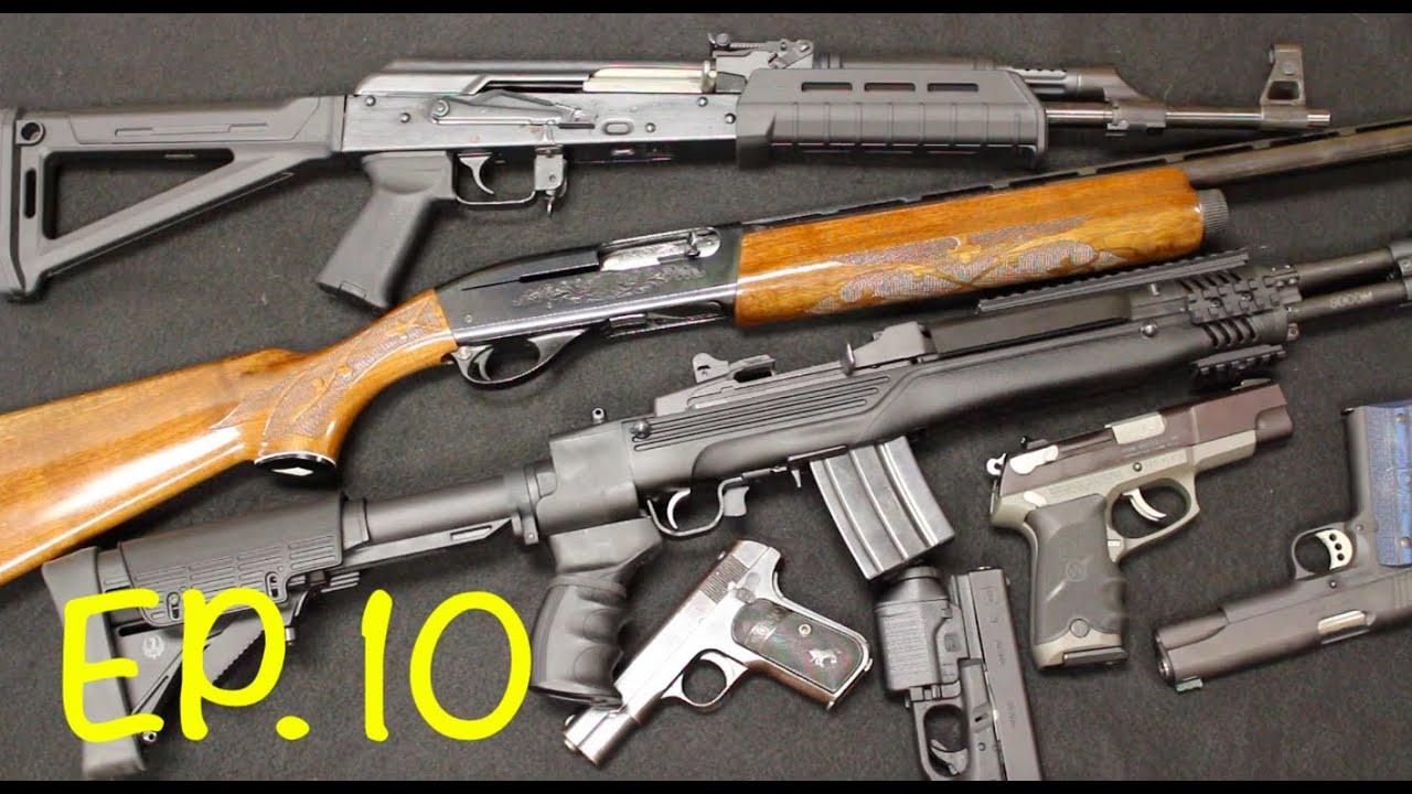 Revue hebdomadaire des armes à feu ép. dix