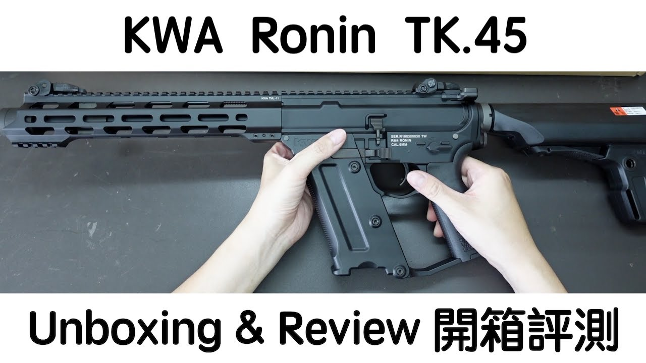 KWA Ronin TK.45-Unboxing & Review