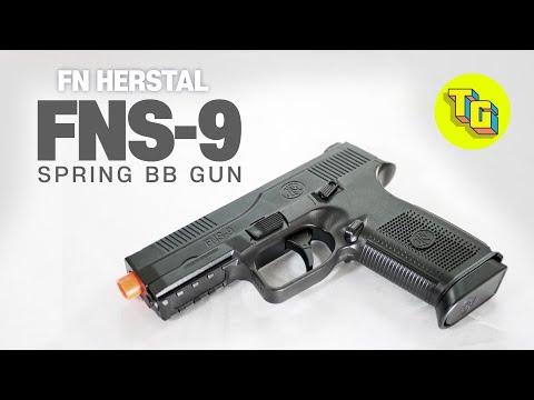 FNS-9 AIRSOFT SPRING BB GUN REVIEW l Jouets réalistes Pistolets Pistolets