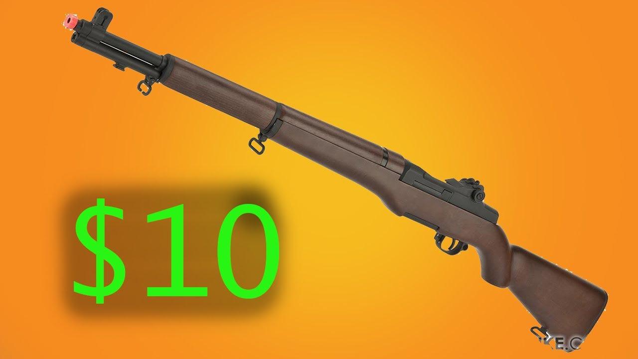 10 $ Airsoft M1 Garand !! Révision et déballage