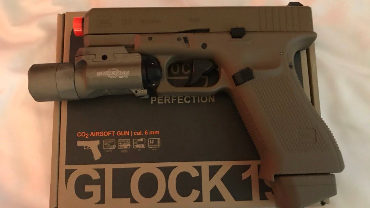 Test de l'Airsoft Glock 19x