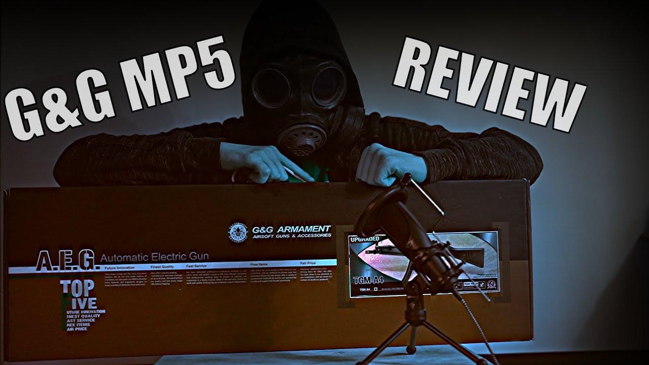 G&G Mp5 OU TGM A4, Déballage, Revue,