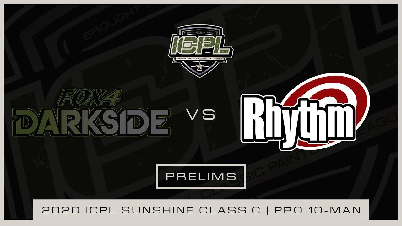 ICPL Sunshine Classic 2020 (Paintball Pro 10 joueurs): Fox 4 Darkside vs Rhythm