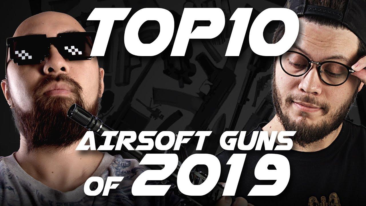 Top 10 Airsoft Guns de 2019 – RedWolf Airsoft RWTV