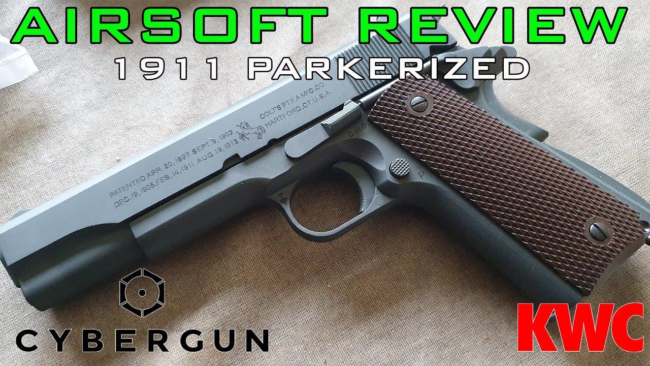 Airsoft Review #10 Colt 1911A1 Parkerized (Phosphaté) Co2 KWC/CYBERGUN