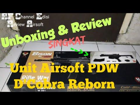 Unboxing & Review Unit d'Airsoft Gun PDW Bison D & # 39; cobra Reborn