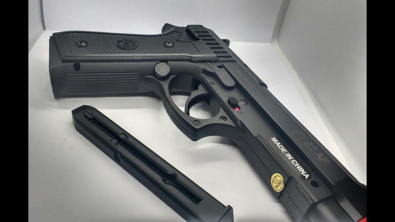 Pistolet à airsoft pour 159 reais !! (Le moins cher du Brésil) !!