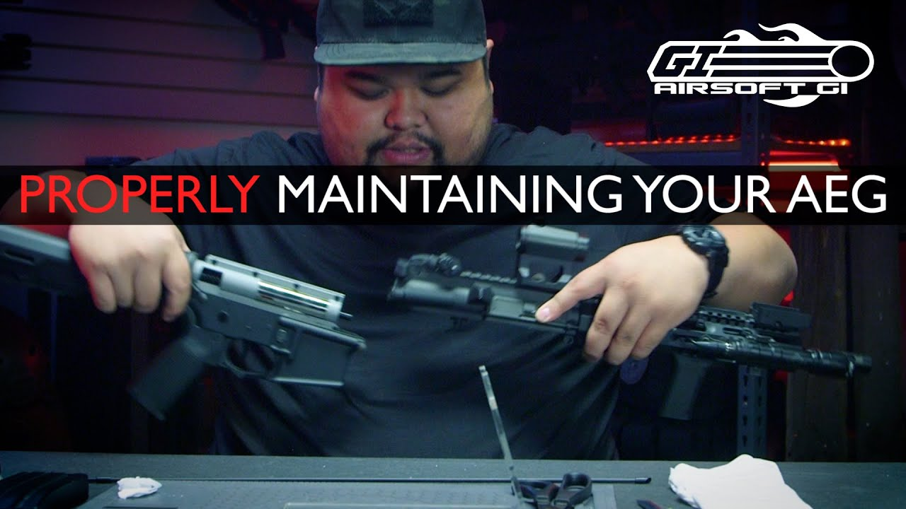 ARRÊTEZ LA DESTRUCTION! – Basic AEG Maintenance Pt. 1 | Airsoft GI