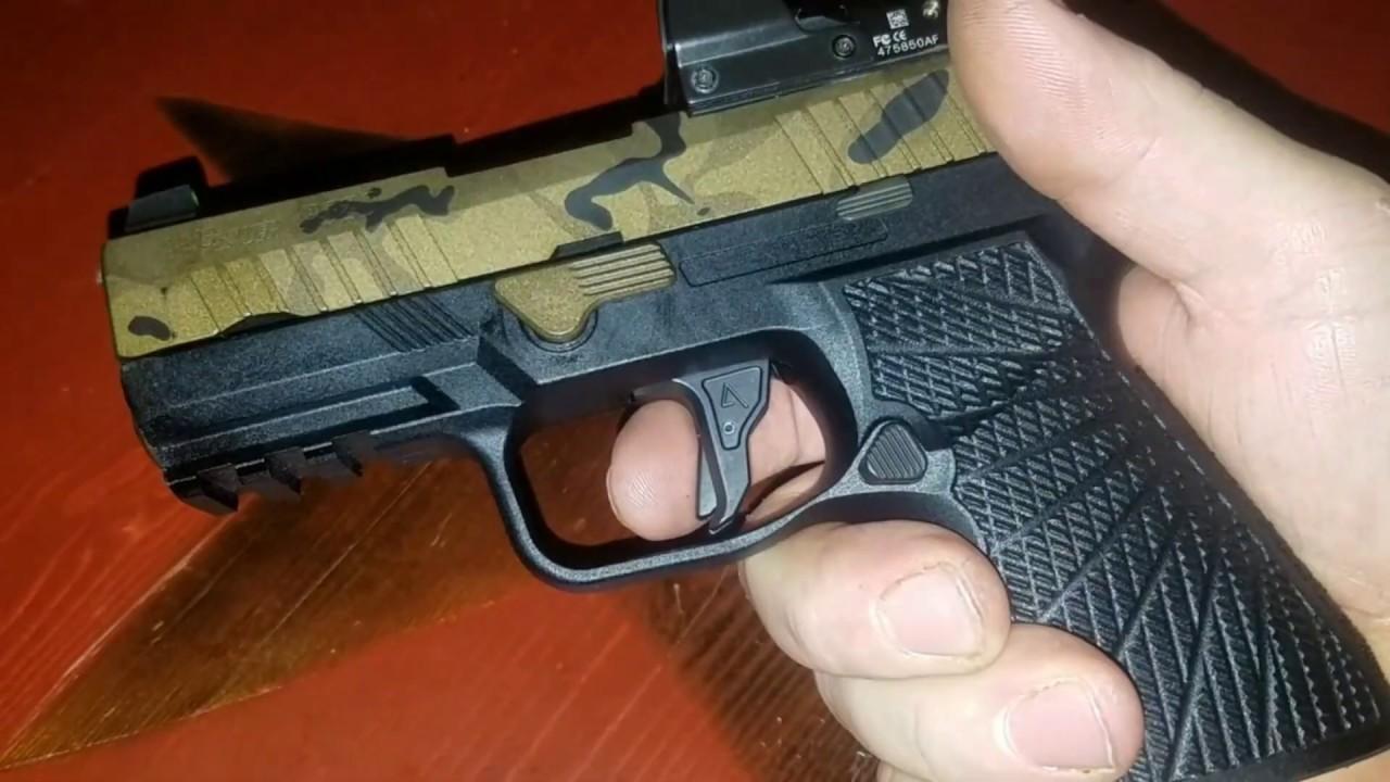 Examen du déclencheur Agency Arms P320