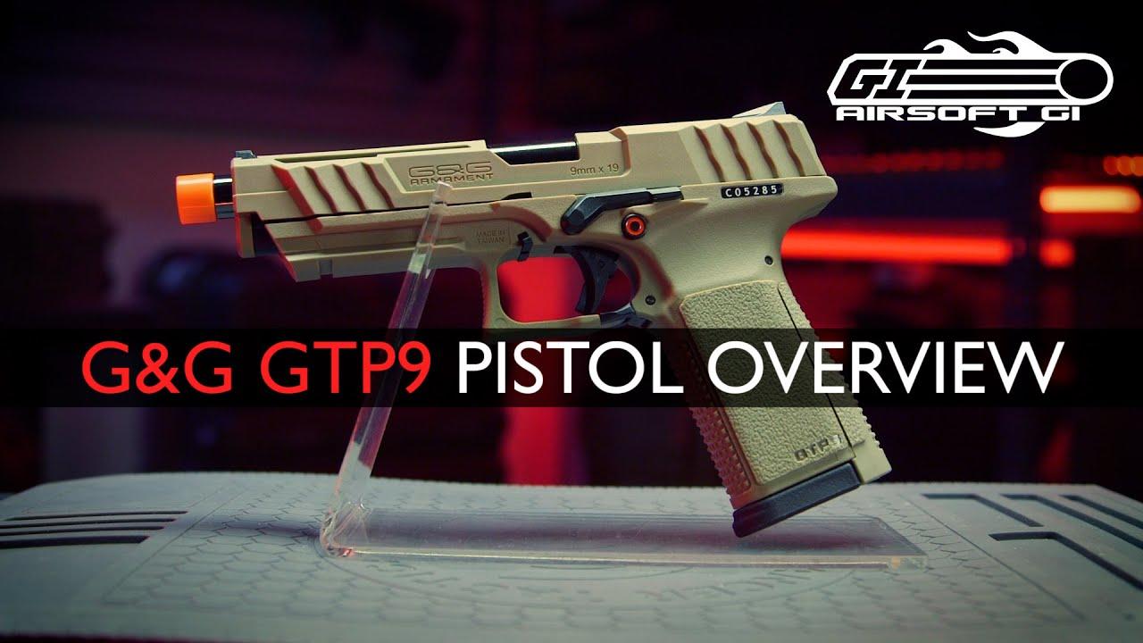 CARBINE ET PISTOLET!? – Pistolet à gaz G&G GTP9 et kit carabine SMC-9 | Airsoft GI